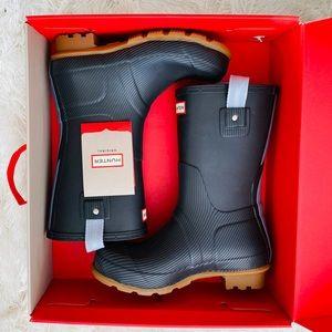 NWT: HUNTER | Men Seaton Short Rain Boots